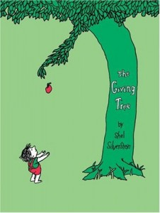 The Giving Tree by Shel Silverstein // Uploaded by Maejius to Wikimedia Commons