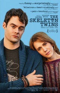 'The Skeleton Twins' poster from Roadside Attractions // Uploaded to Wikimedia Commons by Koala15
