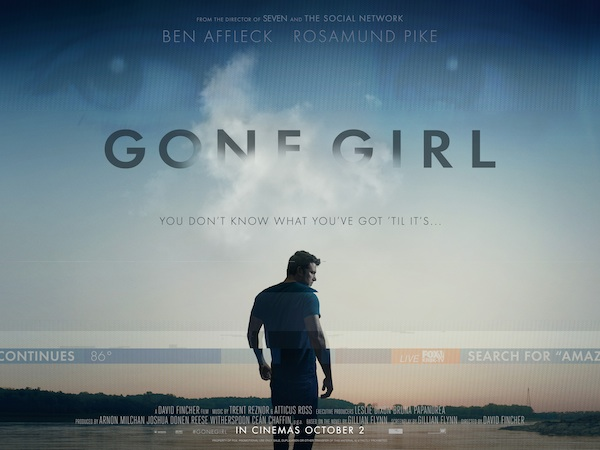 'Gone Girl' lives up to high expectations