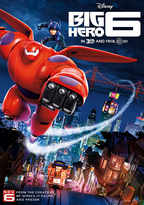 Safety Tip Of The Day >> Visual theatrics of 'Big Hero 6' get lost behind its ...