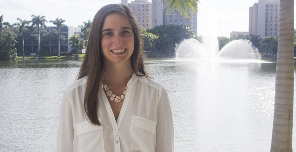 Senior Amy Halpern makes most of on-campus leadership positions