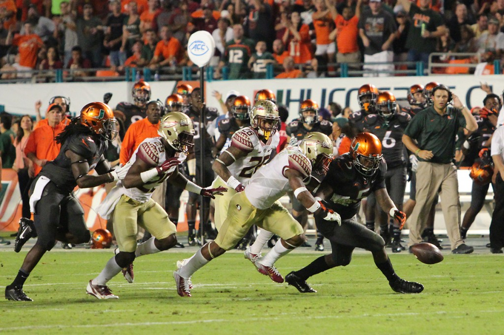 Tale of two halves: Canes own the first, Seminoles take the second
