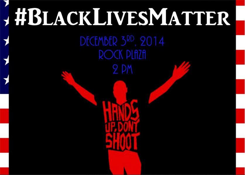 'Black Lives Matter' rally to protest Ferguson grand jury decision