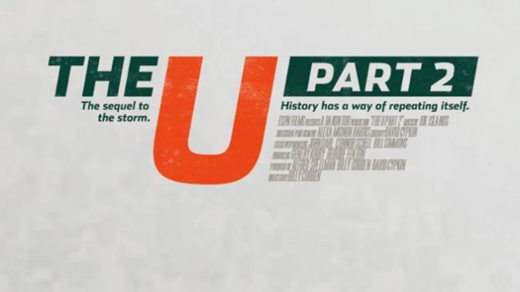 'The U Part 2' compares Golden era to Butch Davis tenure