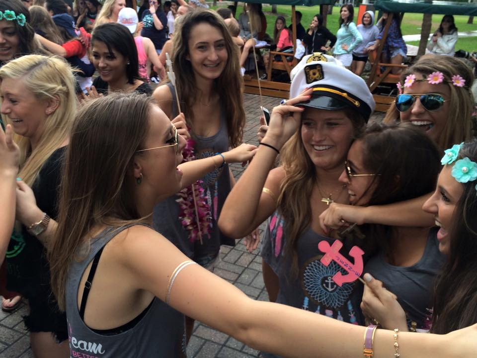 Sorority recruitment numbers continue to rise