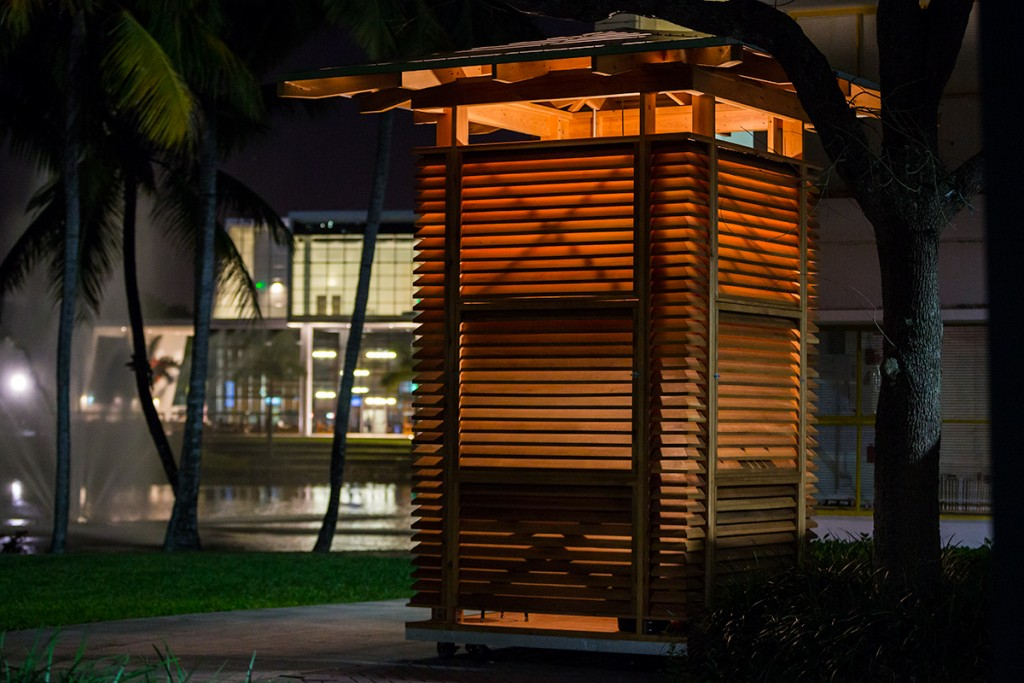 Architecture class creates imaginative coffee kiosk