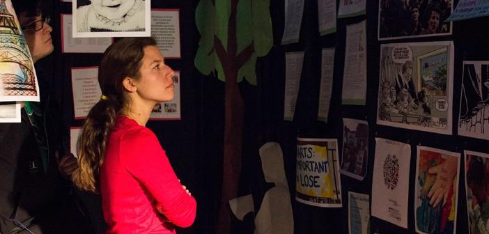 Injustice exhibit raises oppression awareness