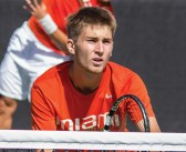 'Competitive' Cane Piotr Lomacki starts successful journey in tennis