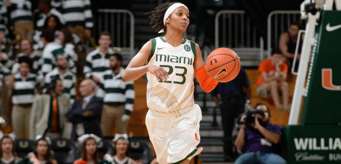 Miami women drop road contest against No. 4 Louisville