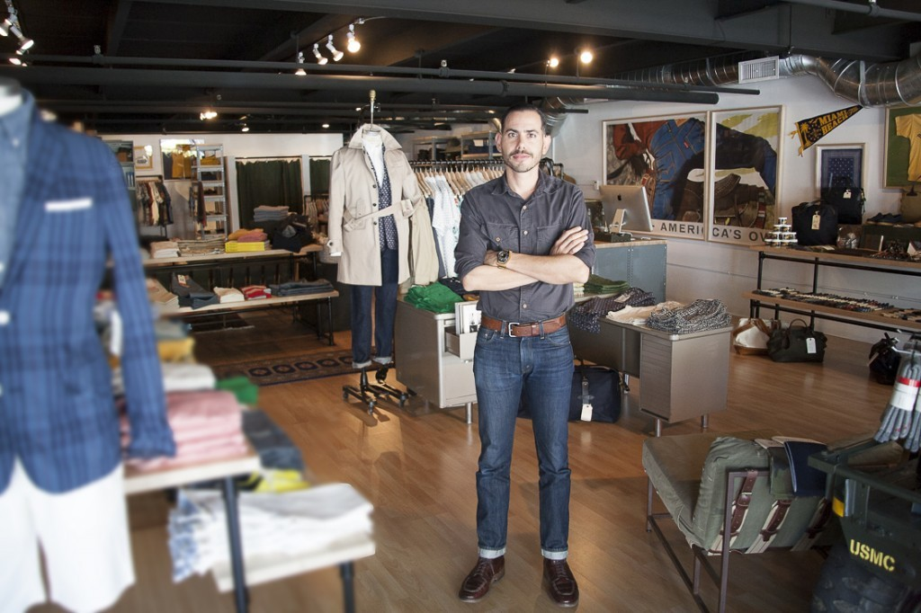 Alumnus opens military-themed clothing store