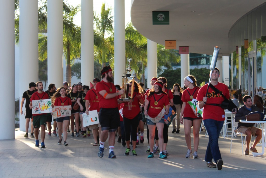 Hecht wins annual Sportsfest competition