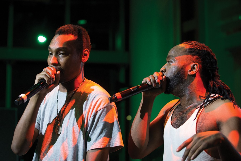 Photo of the Week: Ying Yang Twins perform at UM