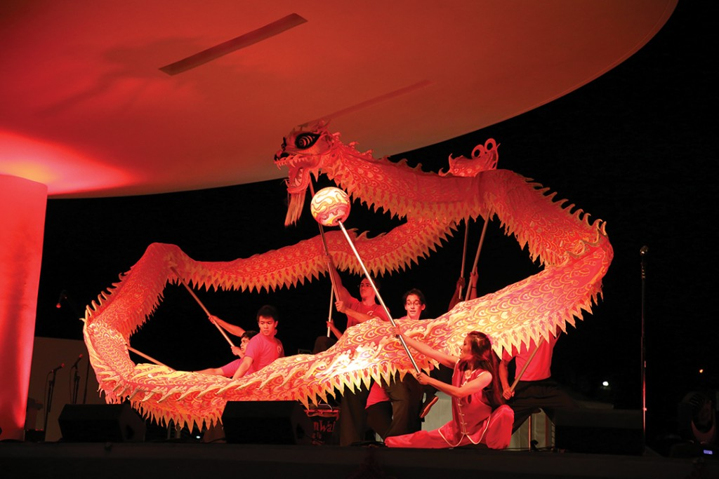 Celebration honors Chinese New Year
