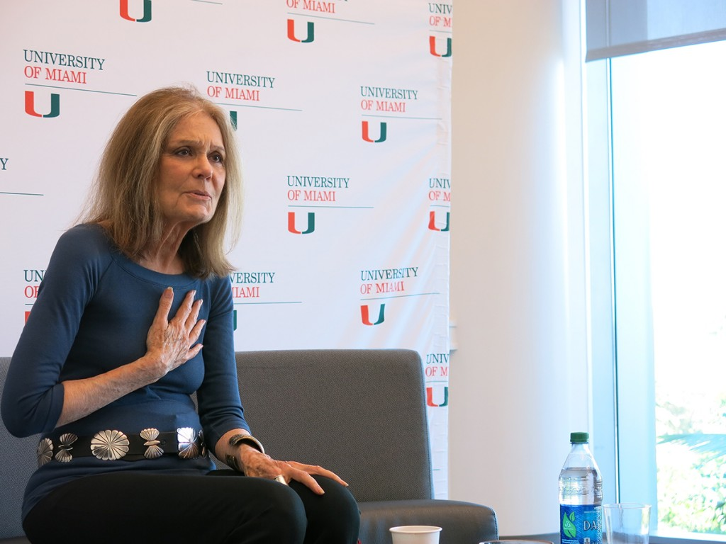 Gloria Steinem shares perspective on feminism