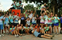 Camp Kesem counselors at the University of Miami // Courtesy of Facebook