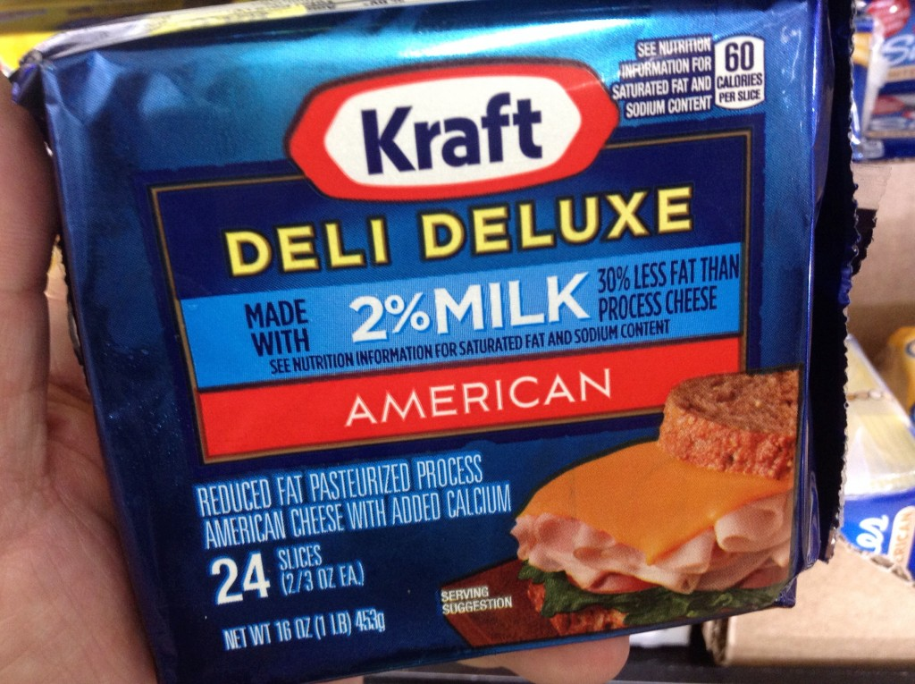 "Kraft cheese Singles do not help ""Kids Eat Right"""
