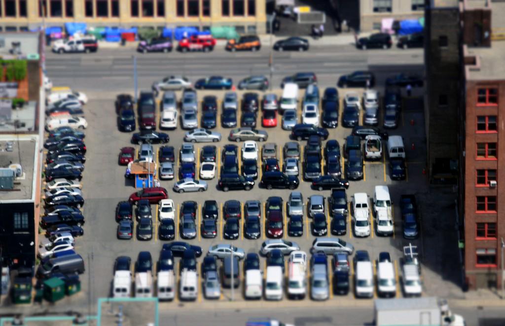 Parking lots, garages sites of vehicle theft, damage