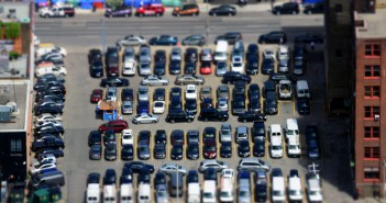 cars parking lot flickr