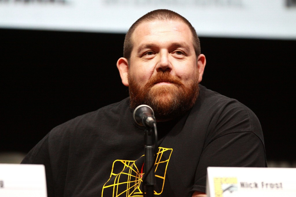 Actor, comedian Nick Frost settles 'Unfinished Business'