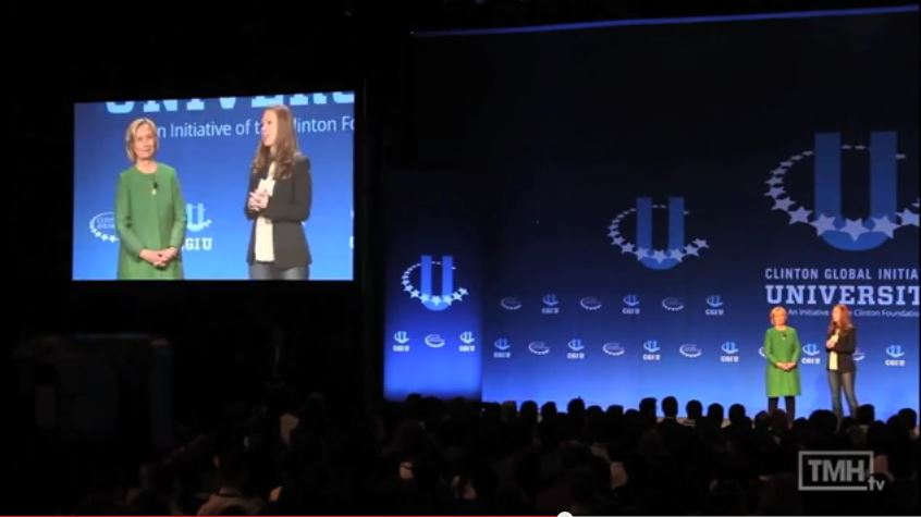 Clinton family closes CGIU with 'unfinished business' on gender equality