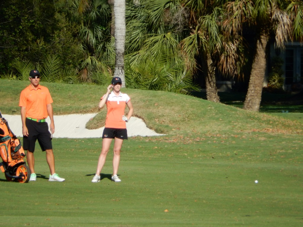 Hurricanes fall to Northwestern in home golf invite
