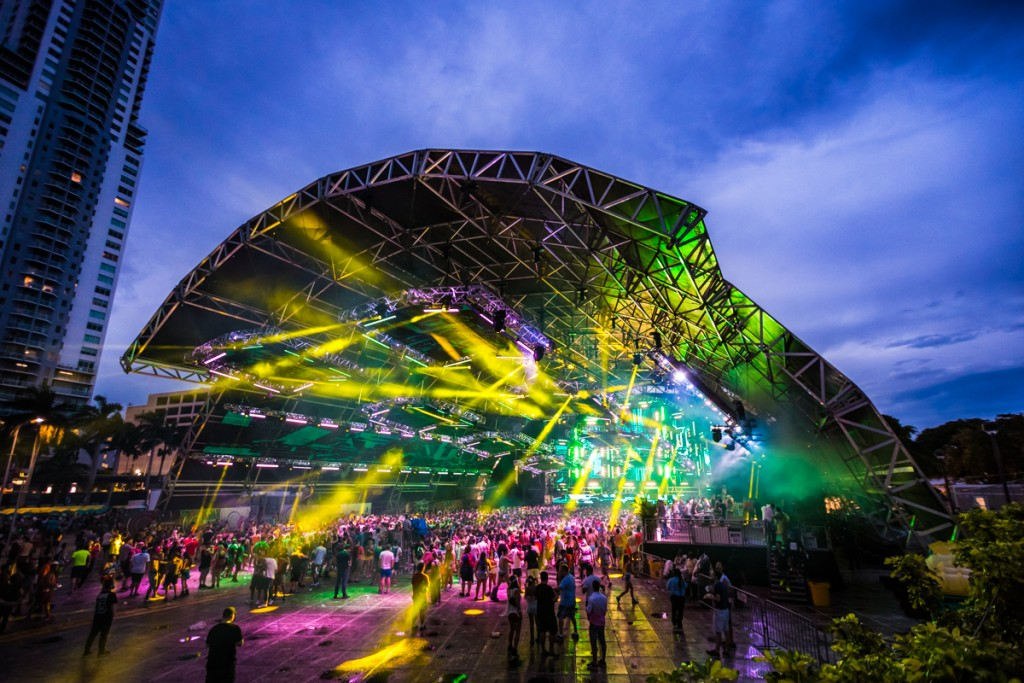 Photo of the Week: Megastructure at Ultra Music Festival