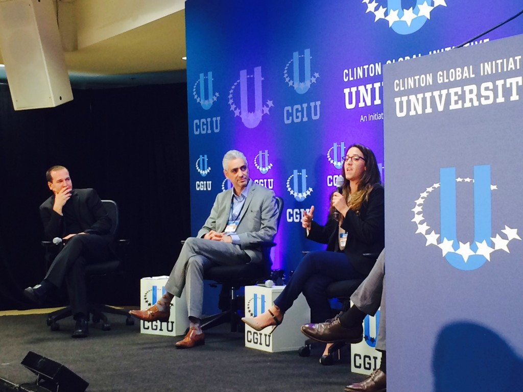 CGIU panelists talk engagement in Middle East peace
