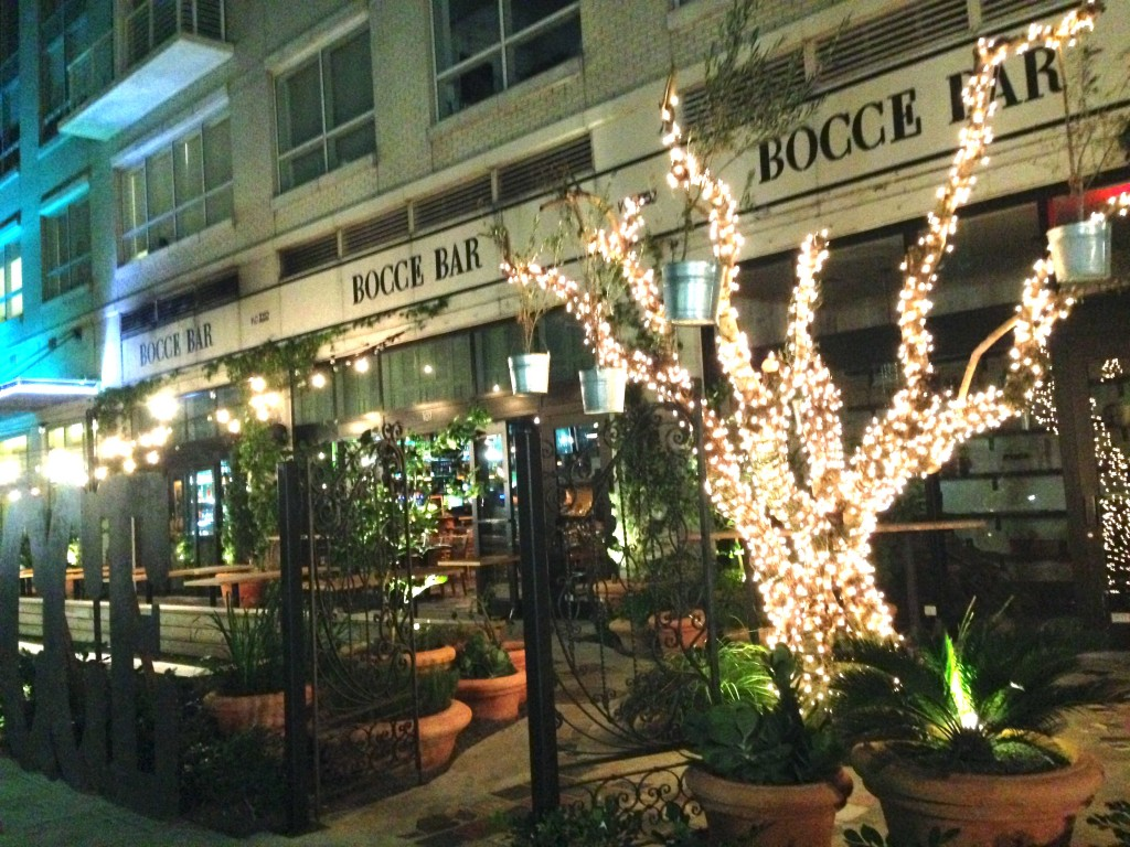 Bocce Bar is an Italian 3252 NE 1st Avenue,  Donatela Vacca // Contributing Photographer