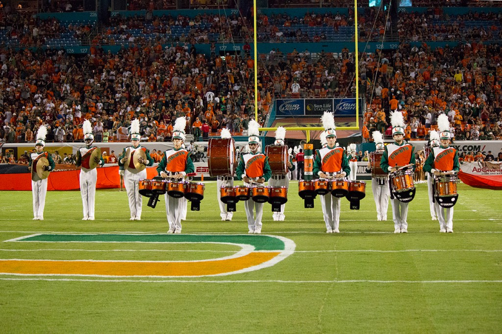 U Musings: Marching band strove to stay warm on Sun Bowl game day