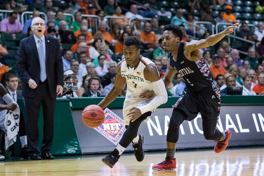 Canes basketball loses second guard in Deandre Burnett