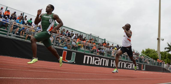 Track team stars shine at two-day meet
