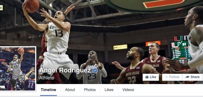 Look at this clever way Angel Rodriguez verified his own Facebook page
