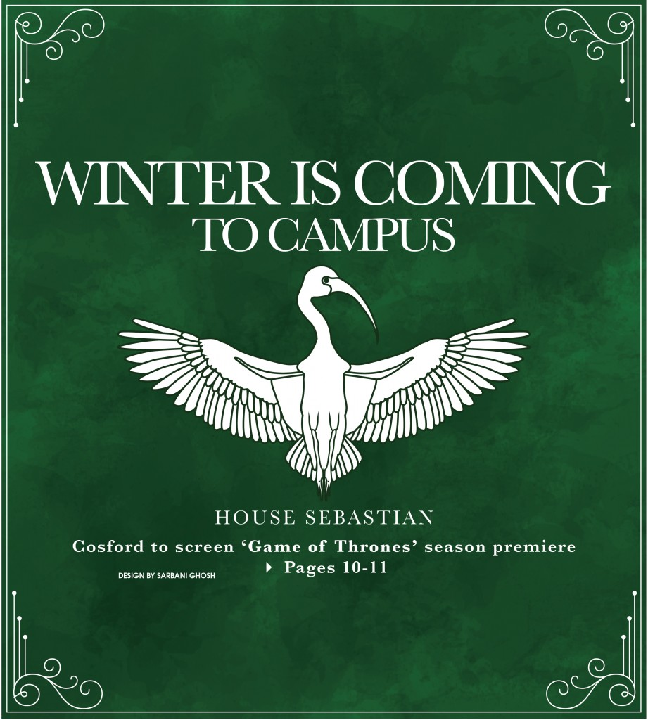 Winter is coming to campus: Cosford to screen 'Game of Thrones' season premiere