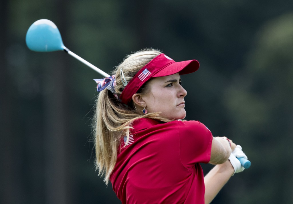 Young golfer Lexi Thompson discusses growing up on course, winning tournament