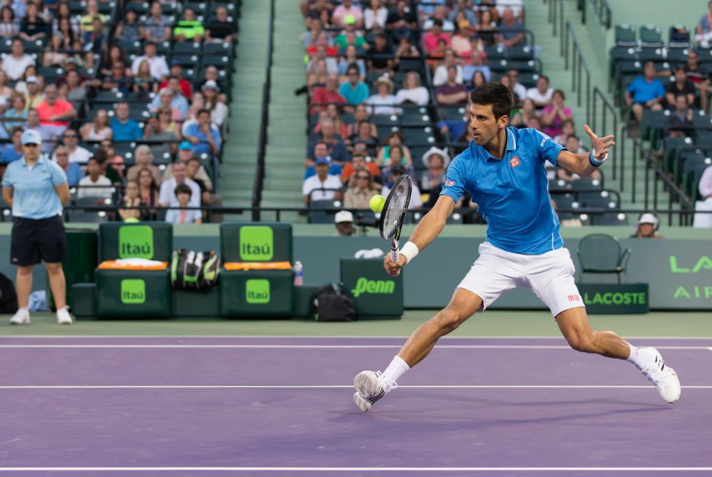 Photo of the Week: Novak Djokovic at Miami Open
