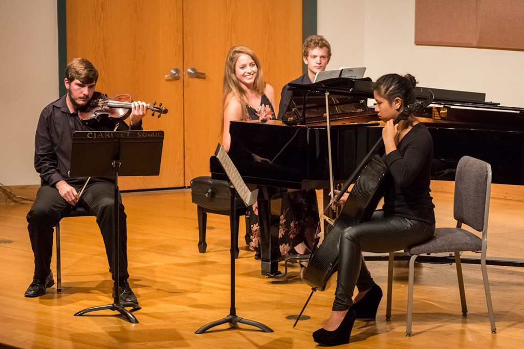 Frost School performers orchestrate senior recitals
