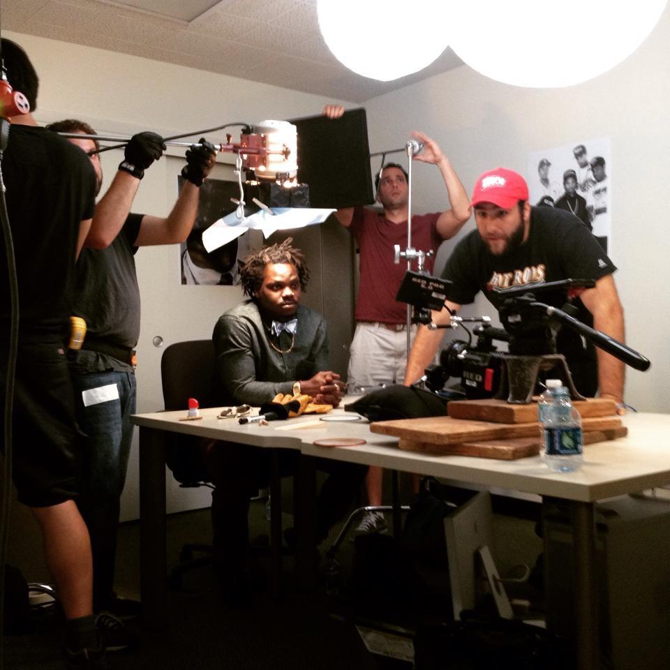 Diverse crew creates film