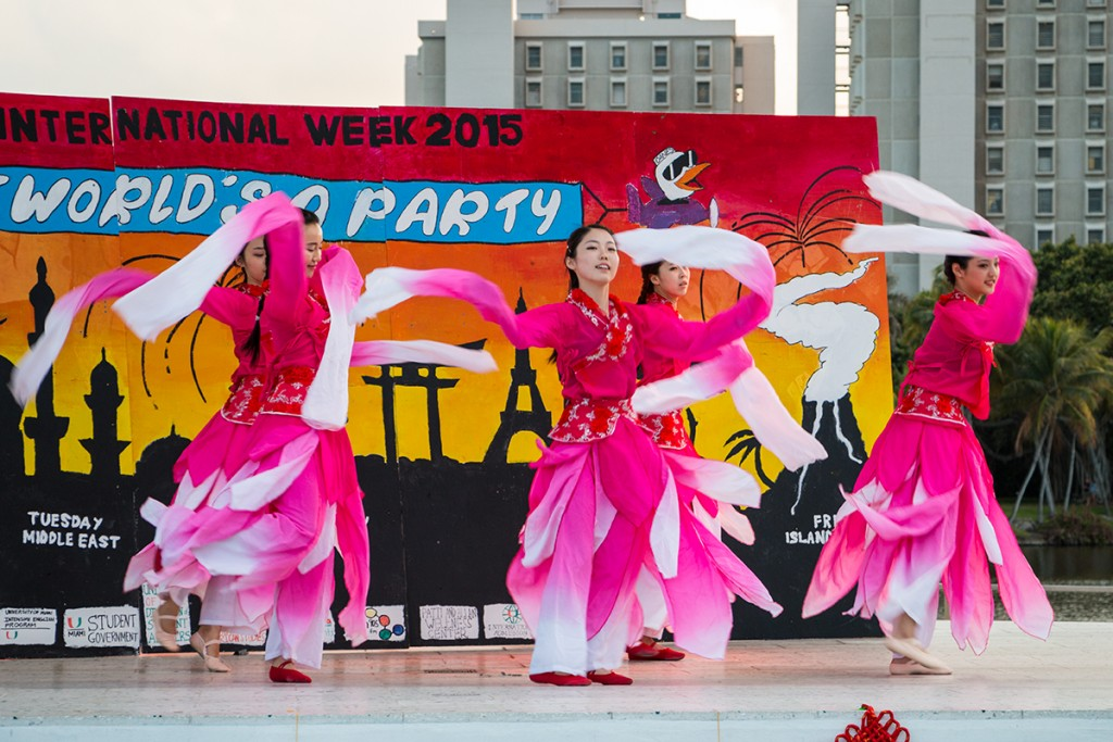 International Week to blend global cultures with local experience