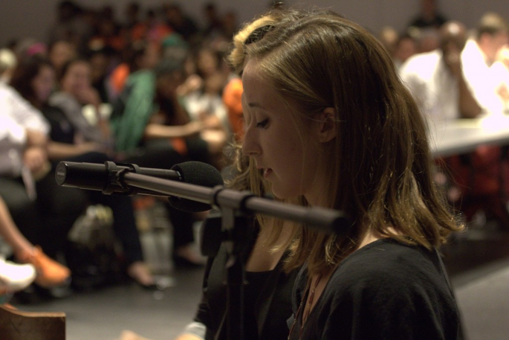 First student-athlete talent show bridges campus community