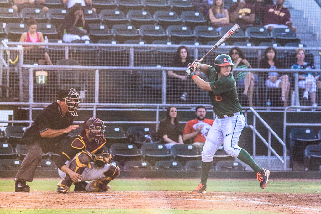 Collins' three-hit night helps Canes baseball breeze by Bethune-Cookman