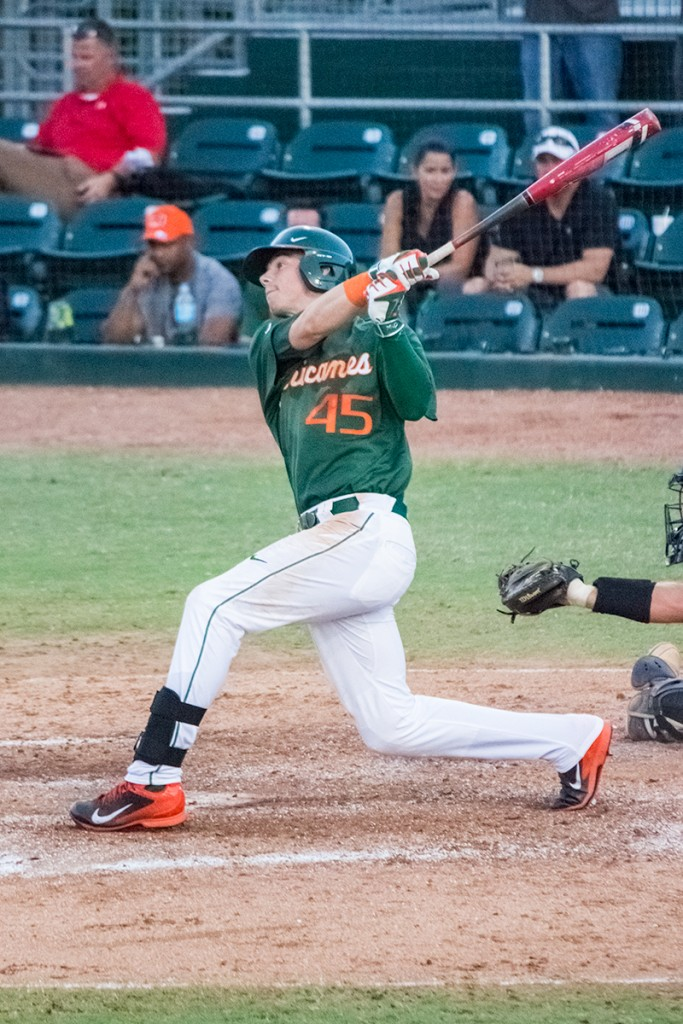 Canes baseball wins ninth straight in top 25 win