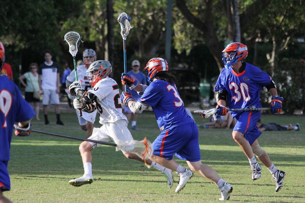 Miami club lacrosse falls to Florida Gators in close call on senior night