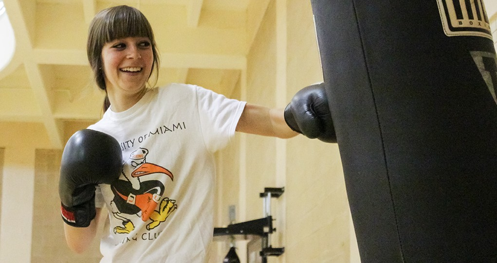 Boxing club president Teresa Browning rules in, out of ring