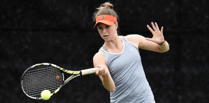 Strong Lady Canes tennis season continues