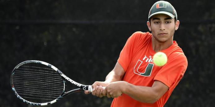 Men's tennis season to close at home