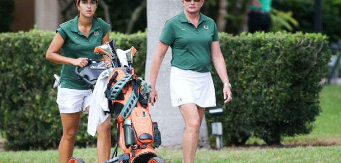 Miami golf coach Patti Rizzo comes full circle, inspires players on, off course