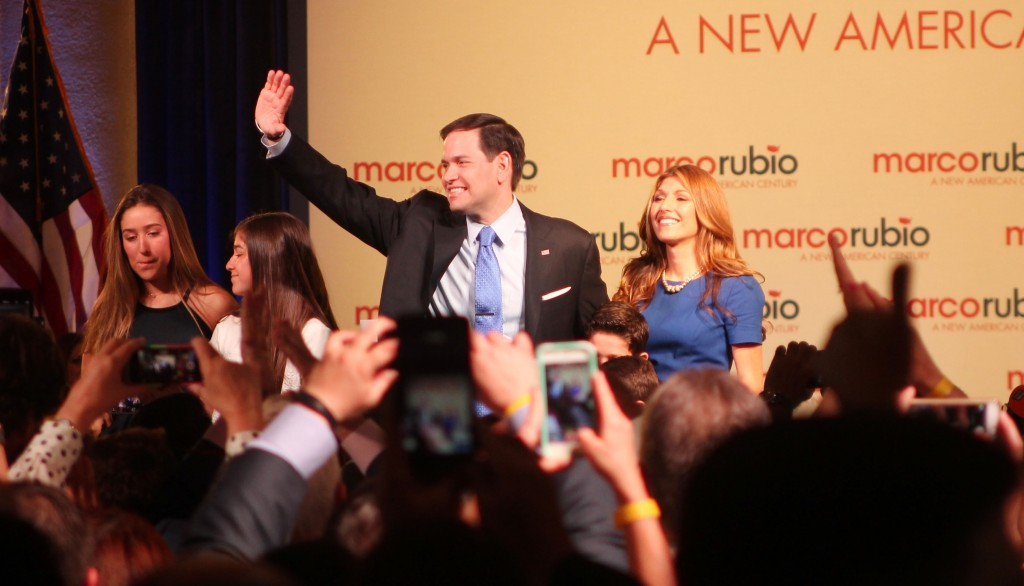 Florida Senator Marco Rubio enters 2016 presidential race