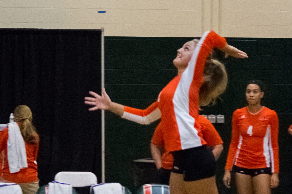 Canes volleyball sweeps Hurricane Invitational