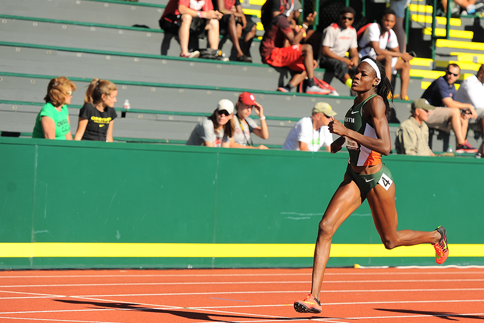 Canes track team competes in 2 major outdoor meets in Texas, Florida