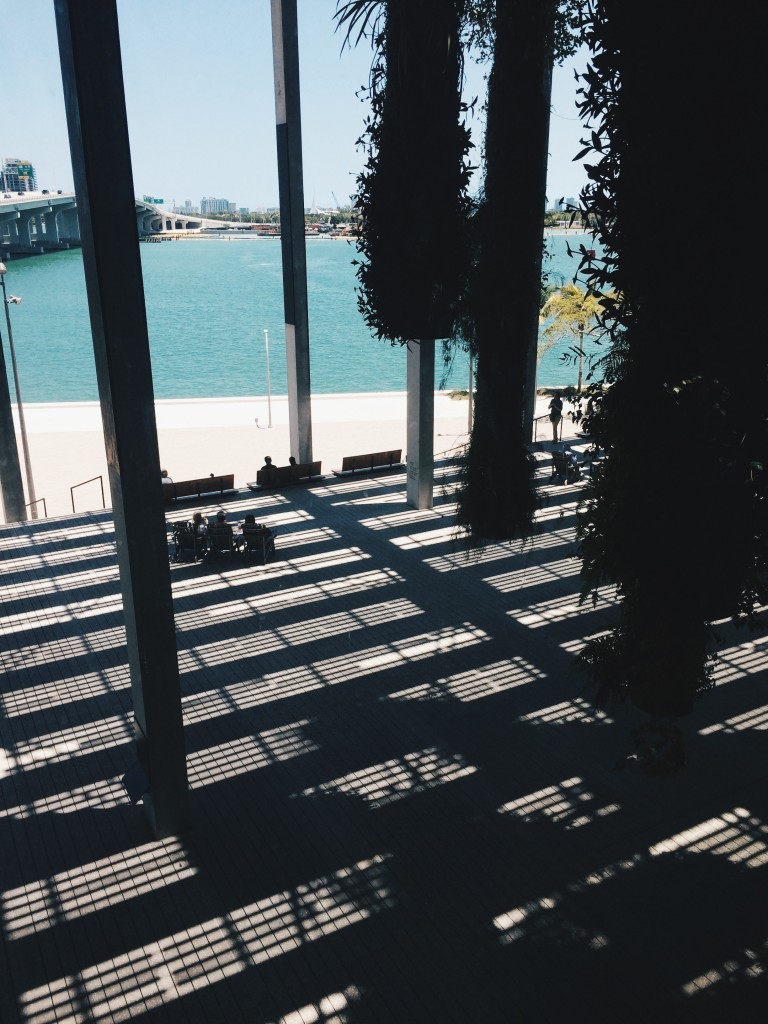 Perez Art Museum Miami patio // Photo by Isabella Cueto